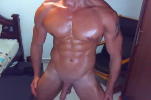 gorgeous guy On webcam Dance And jerk off