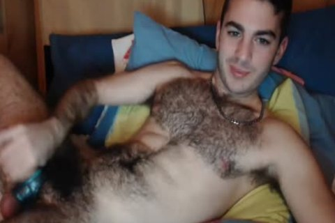 Gorillaman223 On Chaturbate (fashionable bushy, sperm & pooper)