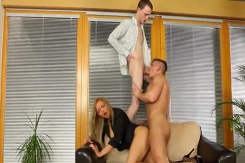 sweet Bisexuals fucking With A blond