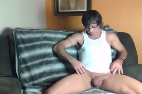 dark Haired Sugar Daddy loves To wank Off